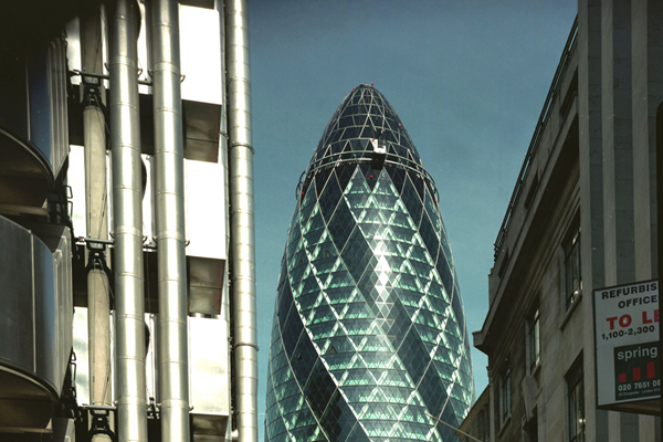 Gherkin 30 st Mary Axe London UK