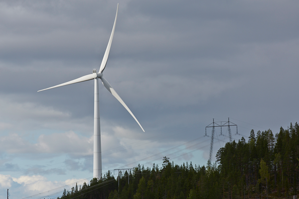 Mullber wind farm Sweden