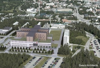 The new Kainuu hospital