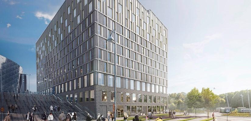 Skanska builds new hotel for Fabege in Solna, Sweden, for about SEK