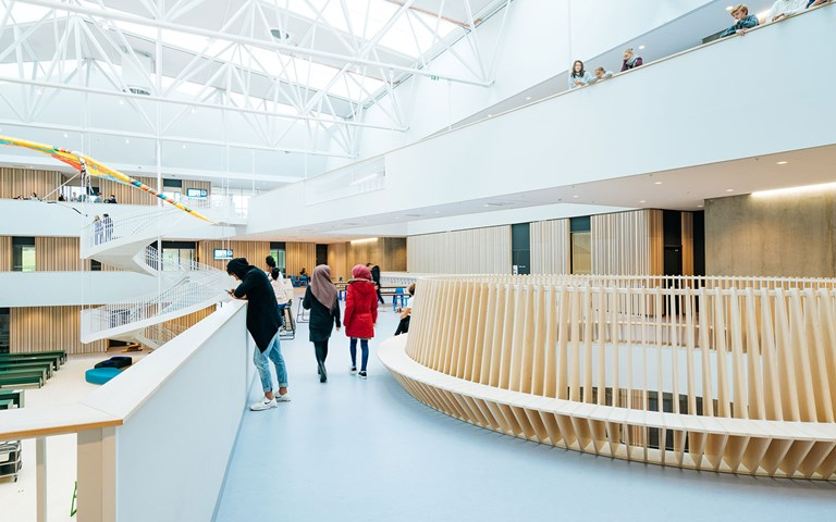 Step inside one of the world's greenest schools