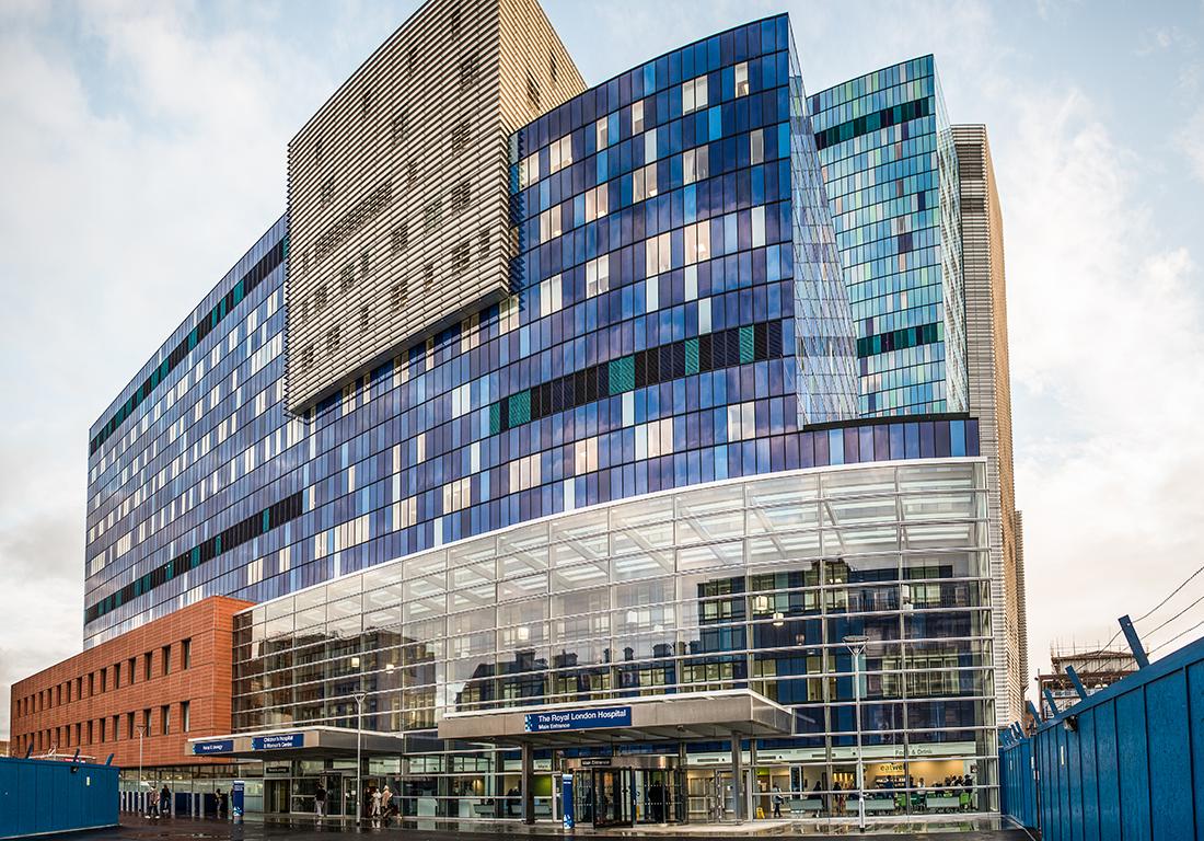 Who Build London Royal Hospital