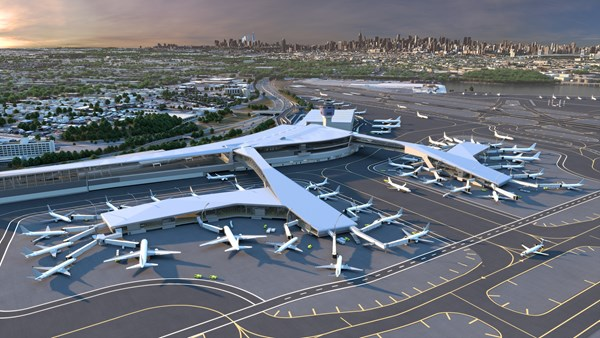 The Port Authority of New York and New Jersey desires a world-class airport that embraces sustainability and minimizes environmental impacts. Skanska and our joint venture partners are implementing a sustainability approach not just during construction, but also for the next 30 years.