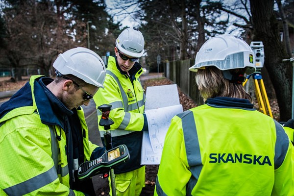 Safety planning at Skanska.
