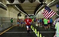 Ride – or run – through this tunnel six months early