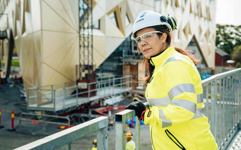 Helping Sweden's immigrant engineers restart their construction careers