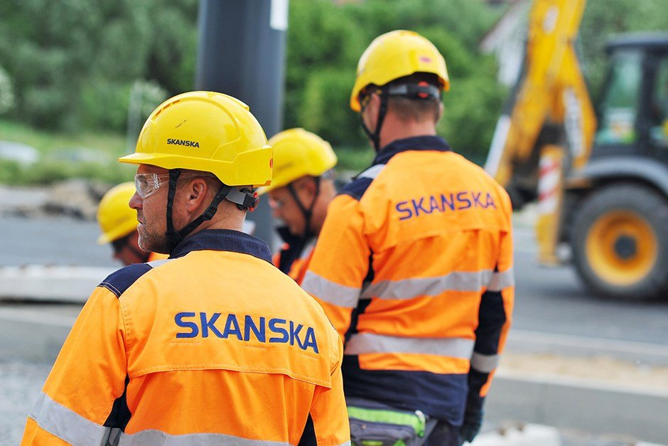 Skanska Poland employees