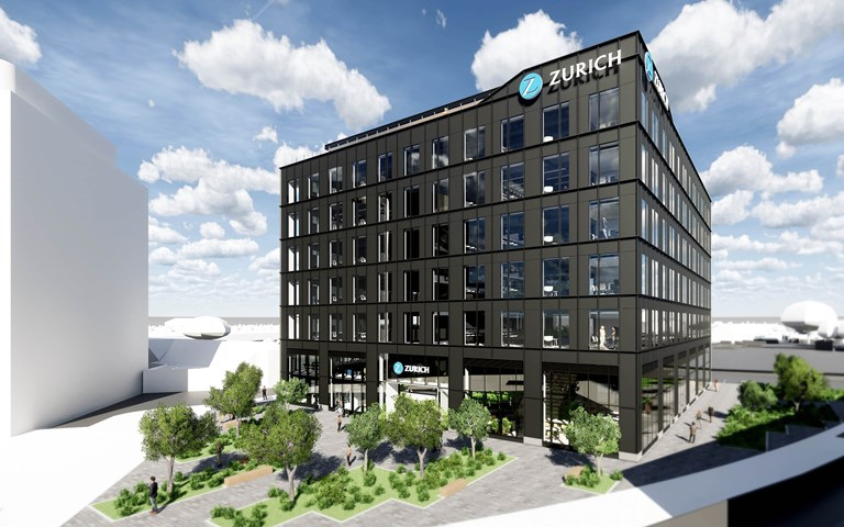 Skanska builds commercial office in Swindon, UK, for GBP 37 M, about SEK 450 M