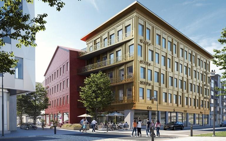 Skanska builds homes and offices for Aranäs properties in Kungsbacka, for SEK 305 M