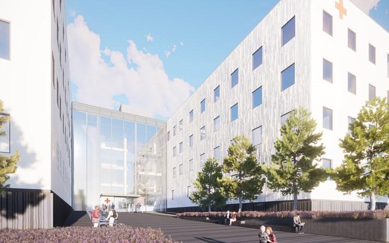Skanska builds hospital in Hämeenlinna, Finland, for EUR 272M, about SEK 2.8 billion