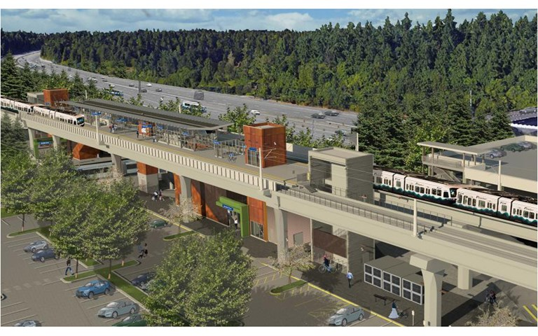 Skanska builds light rail extension in the State of Washington, USA, for USD 778 M, about SEK 7.3 billion