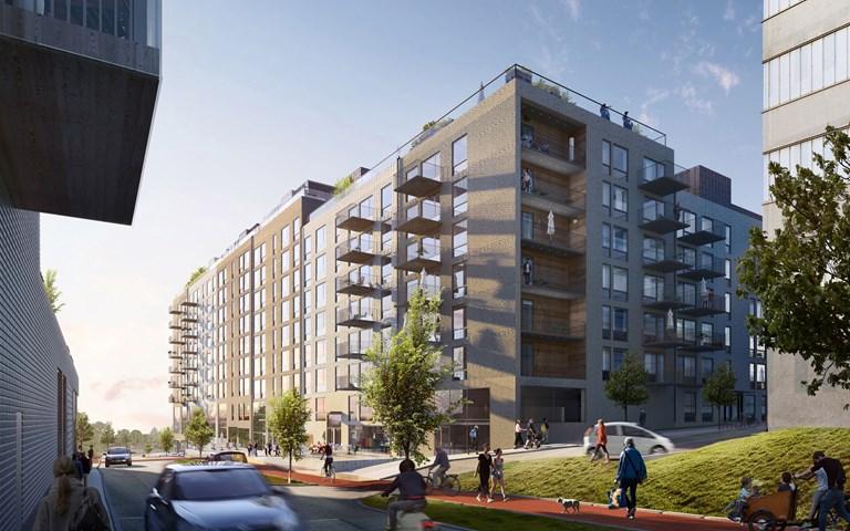 Skanska builds multi-family buildings for Stena Fastigheter in Gothenburg, Sweden, for about SEK 550 M