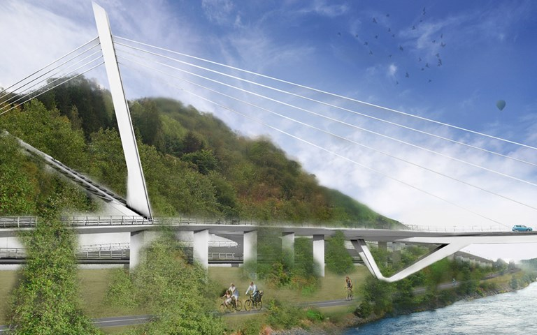 Skanska builds new bridge in Trondheim, Norway, for NOK 805 M, about SEK 800 M