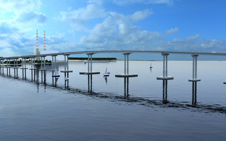 Skanska builds new bridge over the Potomac River, USA, for USD 301 M, about SEK 2.9 billion