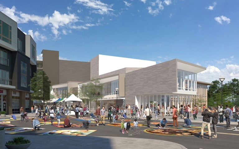 Skanska builds new center for the arts in Beaverton, Oregon, USA, for USD 59 M about SEK 560 M