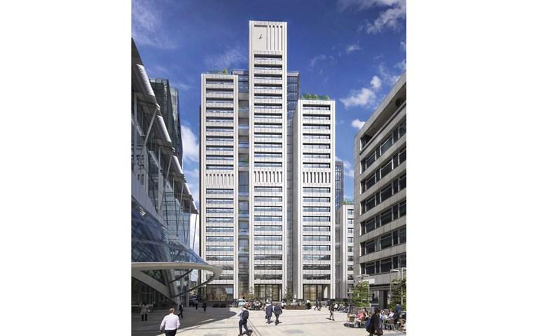 Skanska builds new commercial office building in the City of London, UK, for GBP 240 M, about SEK 3 billion