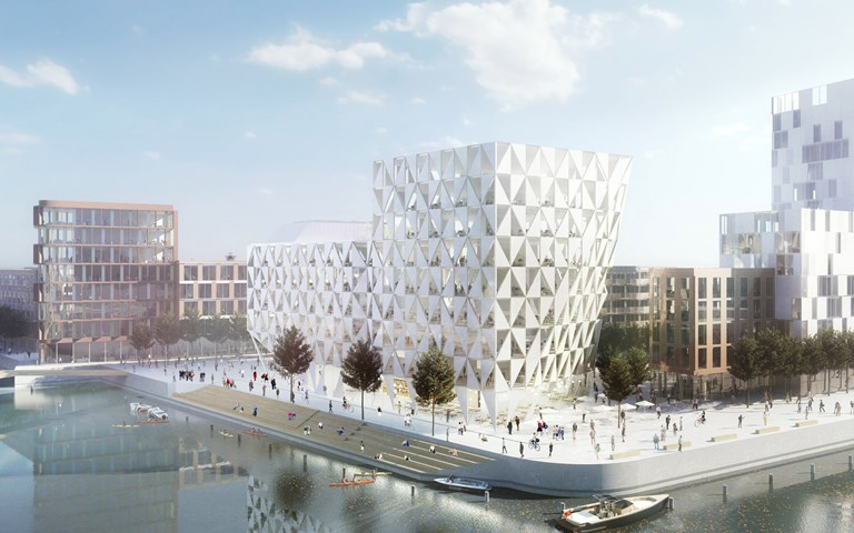 Skanska builds office building in Helsingborg, Sweden, for about SEK 350 M
