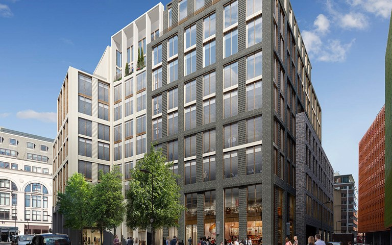 Skanska builds residential- and commercial office buildings in London, UK, for GBP 83M, about SEK 950M