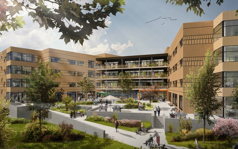 Skanska builds schools with multi-purpose hall and rehabilitation center in Trondheim, Norway, for NOK 781M, about SEK 770M