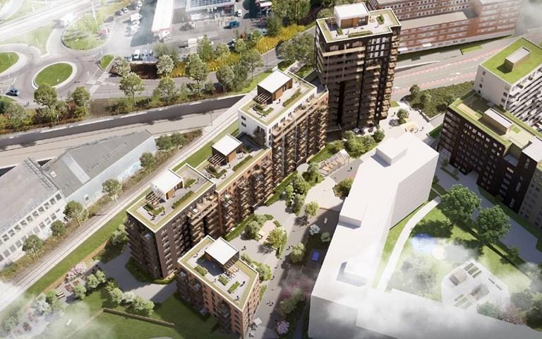 Skanska bygger 168 lägenheter i Oslo, Norge, för cirka 370 miljoner kronor