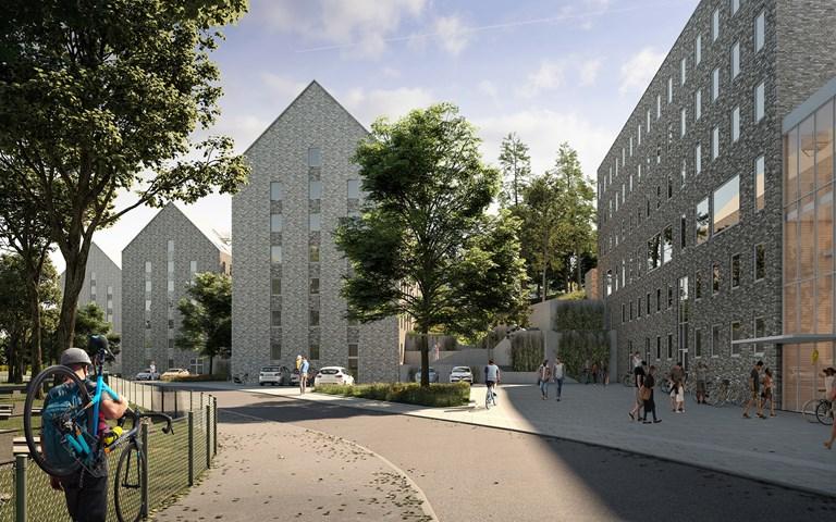 Skanska bygger bostäder åt SGS Studentbostäder i Göteborg för 385 miljoner kronor