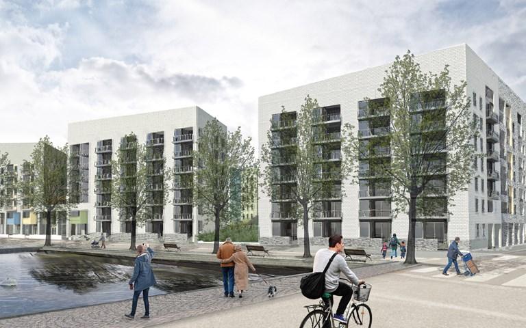 Skanska bygger bostadskvarter i Helsingfors, Finland, för EUR 45 M, cirka 470 miljoner kronor