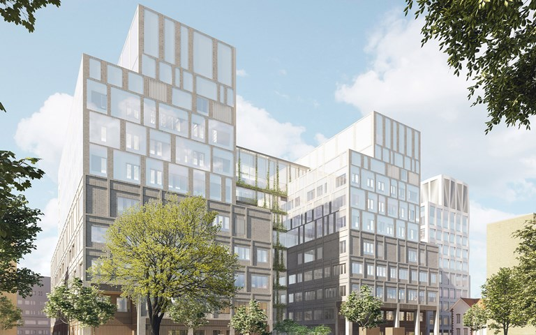 Skanska bygger ny vårdbyggnad i Malmö, tecknar tillkommande kontrakt för cirka 4,2 miljarder kronor
