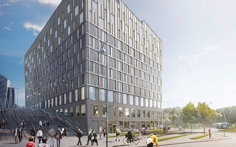 Skanska bygger nytt hotell åt Fabege i Solna för cirka 470 miljoner kronor