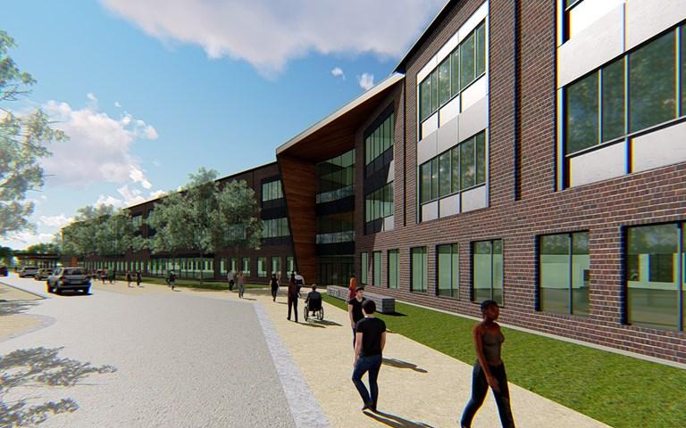 Skanska bygger skolor i Baltimore, USA för USD 88 M, cirka 820 miljoner kronor
