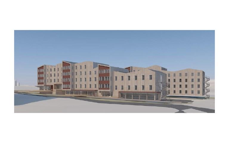 Skanska bygger studentbostäder på Svalbard, Norge, för NOK 310 M, cirka 320 miljoner kronor