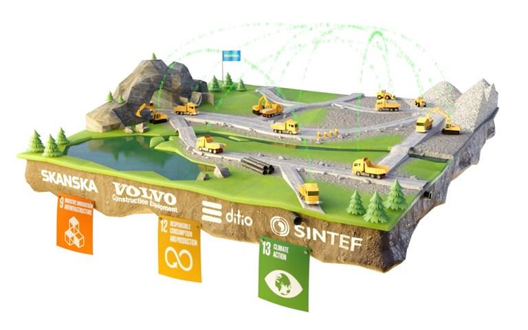 Skanska deltar i forskningsprojekt för att begränsa koldioxidutsläpp med artificiell intelligens