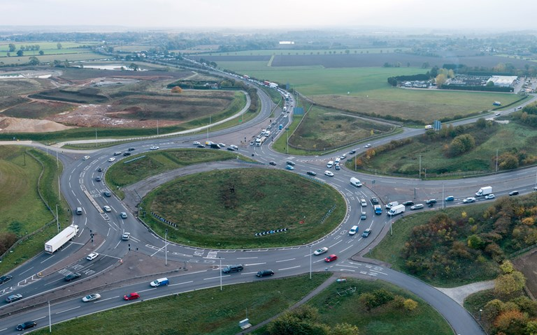 Skanska improves the A428 road in the East of England region, UK, for GBP 507M, about SEK 5.8 billion