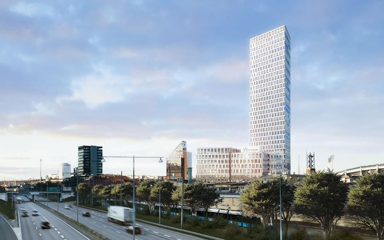 Skanska in Gothenburg, Sweden, is moving to the self-developed office project Citygate