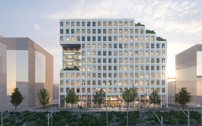 Skanska investerar cirka 590 miljoner kronor i ett klimatneutralt kontorsprojekt i Hyllie, Malmö