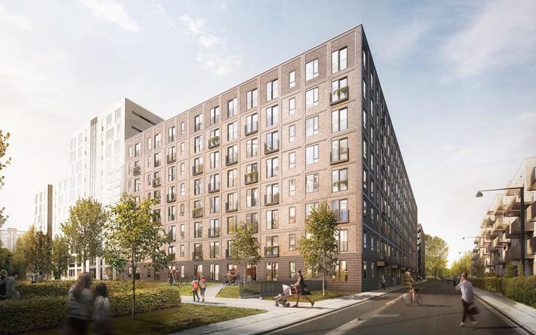 Skanska investerar DKK 446M, cirka 600 miljoner kronor, i hyresbostadsprojekt i Köpenhamn, Danmark