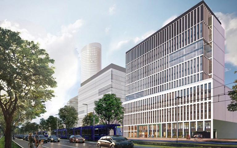 Skanska investerar EUR 47M, cirka 480 miljoner kronor, i en ny byggnad i kontorsprojektet Centrum Południe i Wroclaw, Polen