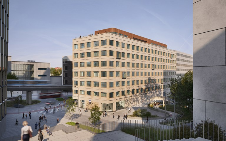 Skanska invests about SEK 390M in a new office building in Stockholm, Sweden
