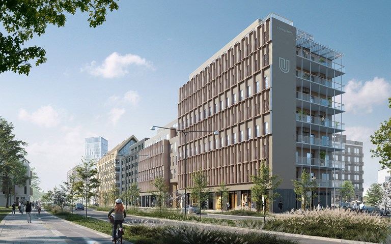 Skanska invests about SEK 420 M in a new office project in Malmö, Sweden
