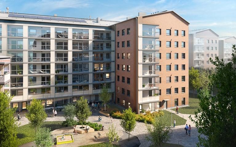 Skanska invests EUR 26M, about SEK 260M in a residential development project in Helsinki, Finland