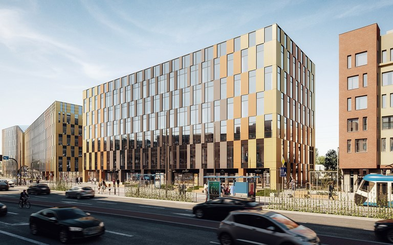 Skanska invests EUR 28 M, about SEK 300 M, in a new office building in Krakow, Poland