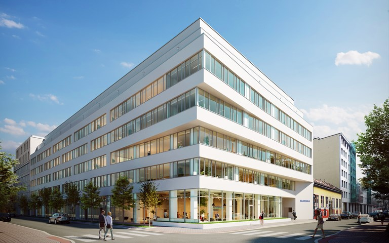 Skanska invests EUR 29 M, about SEK 308 M, in office project in Budapest, Hungary