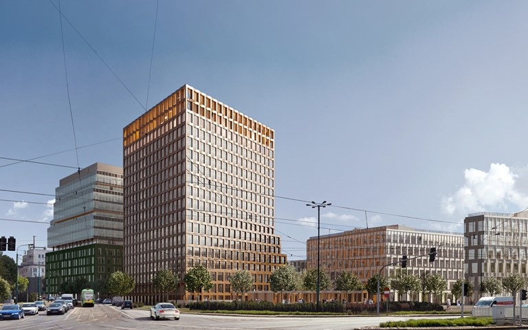 Skanska invests EUR 63M, about SEK 640M, in a new building in the Nowy Rynek office complex in Poznan, Poland