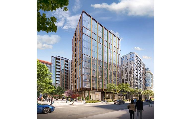 Skanska invests USD 128M, about SEK 1.1 billion, in OZMA, a multi-family development project in Washington, DC, USA