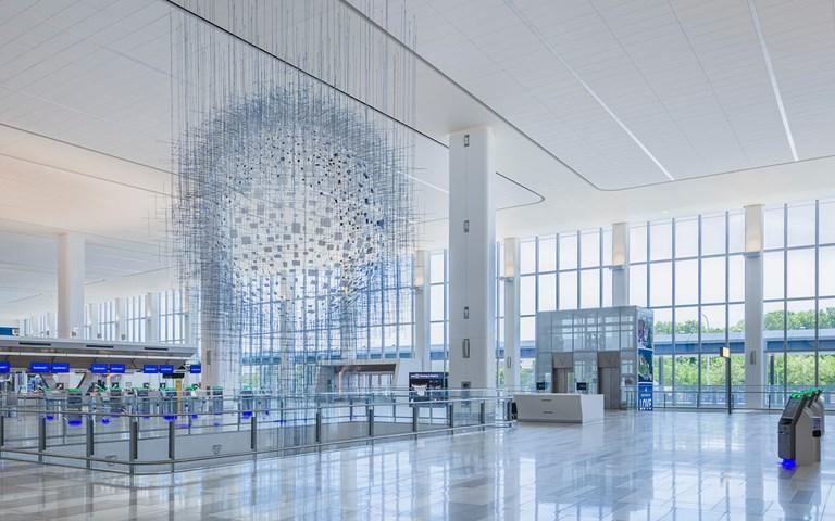 Skanska når milstolpe på flygplatsen LaGuardia i New York, USA, bolagets största projekt någonsin