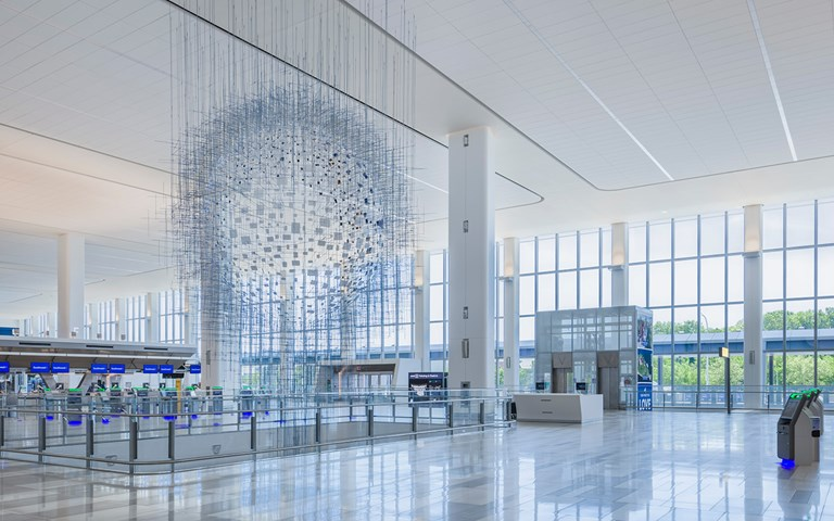 Skanska reaches milestone at LaGuardia Airport, New York, the company's largest project ever