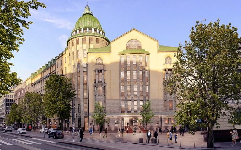 Skanska renoverar historiskt byggnadskomplex till lyxhotell i Helsingfors, Finland, för EUR 47M, cirka 480 miljoner kronor