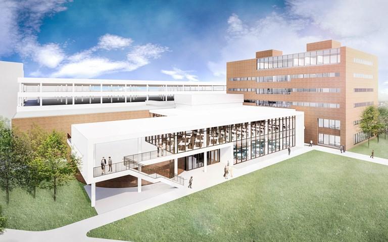 Skanska renoverar nya University of Cincinnati College of Law i Cincinnati, USA, för cirka 300 miljoner kronor