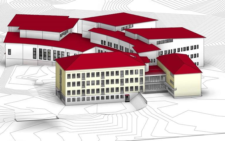 Skanska renoverar och bygger ut kommunal skola i Lahtis, Finland, för EUR 31 M, cirka 320 miljoner kronor