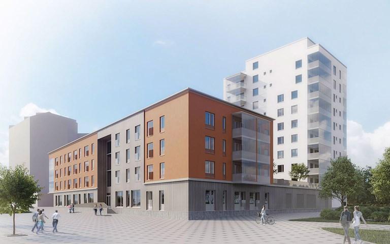 Skanska säljer äldreboende i Lahtis, Finland, för cirka EUR 20 M, cirka 210 miljoner kronor