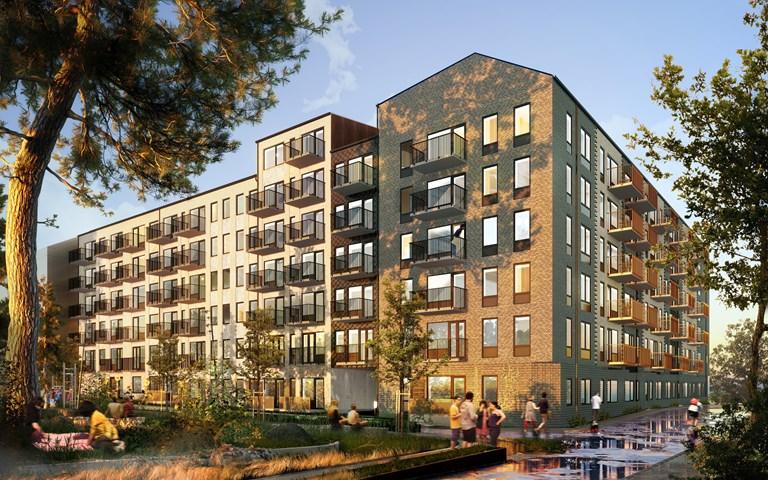 Skanska säljer bostadskvarter i Malmö för cirka 300 miljoner kronor